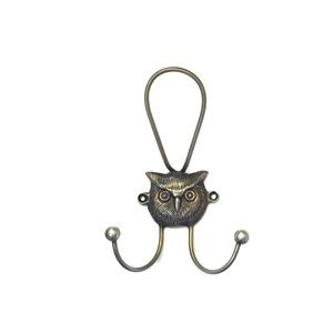 Anthropologie Brass Owl 🦉 Hook